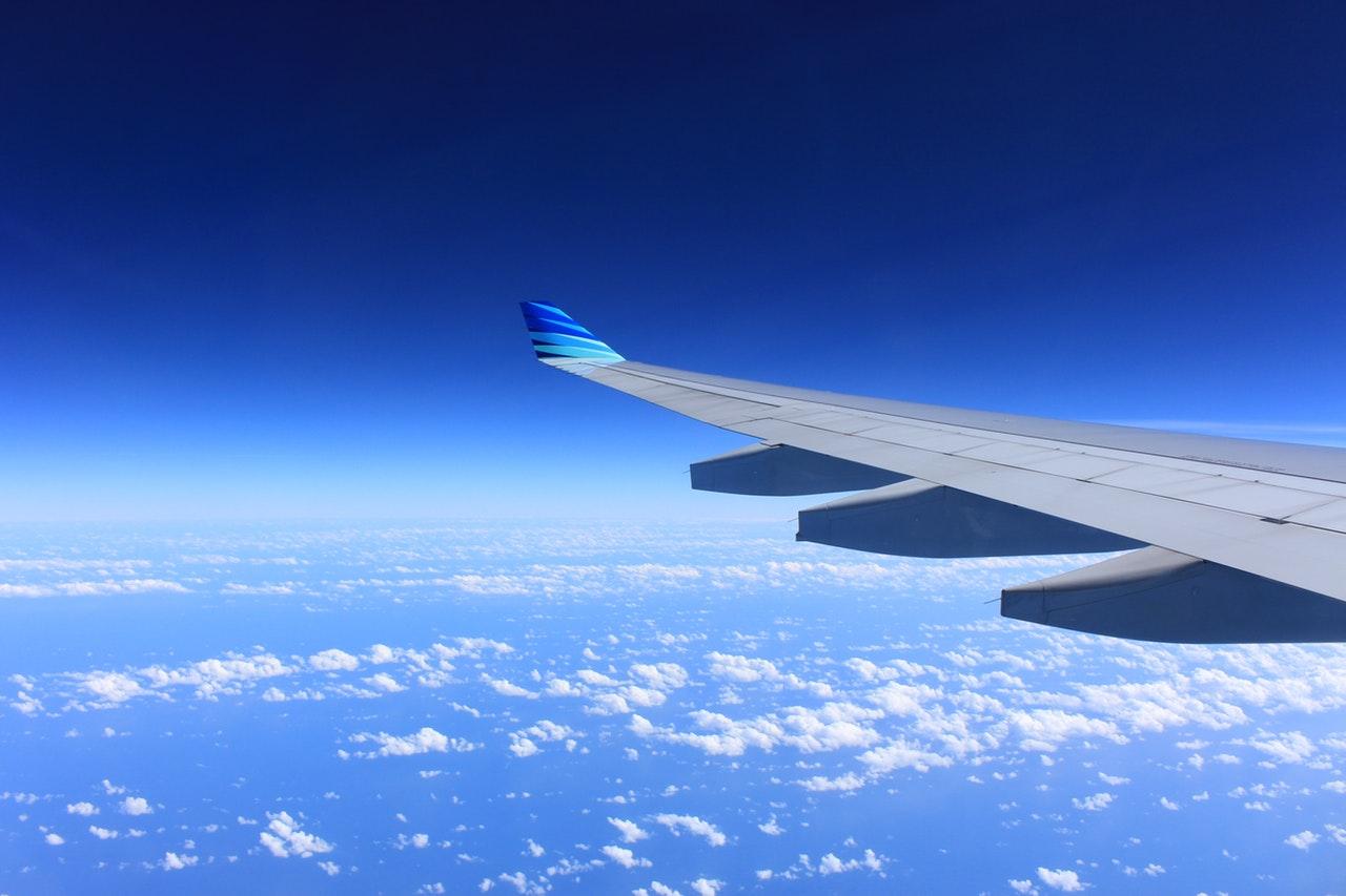 passagem aérea aviao